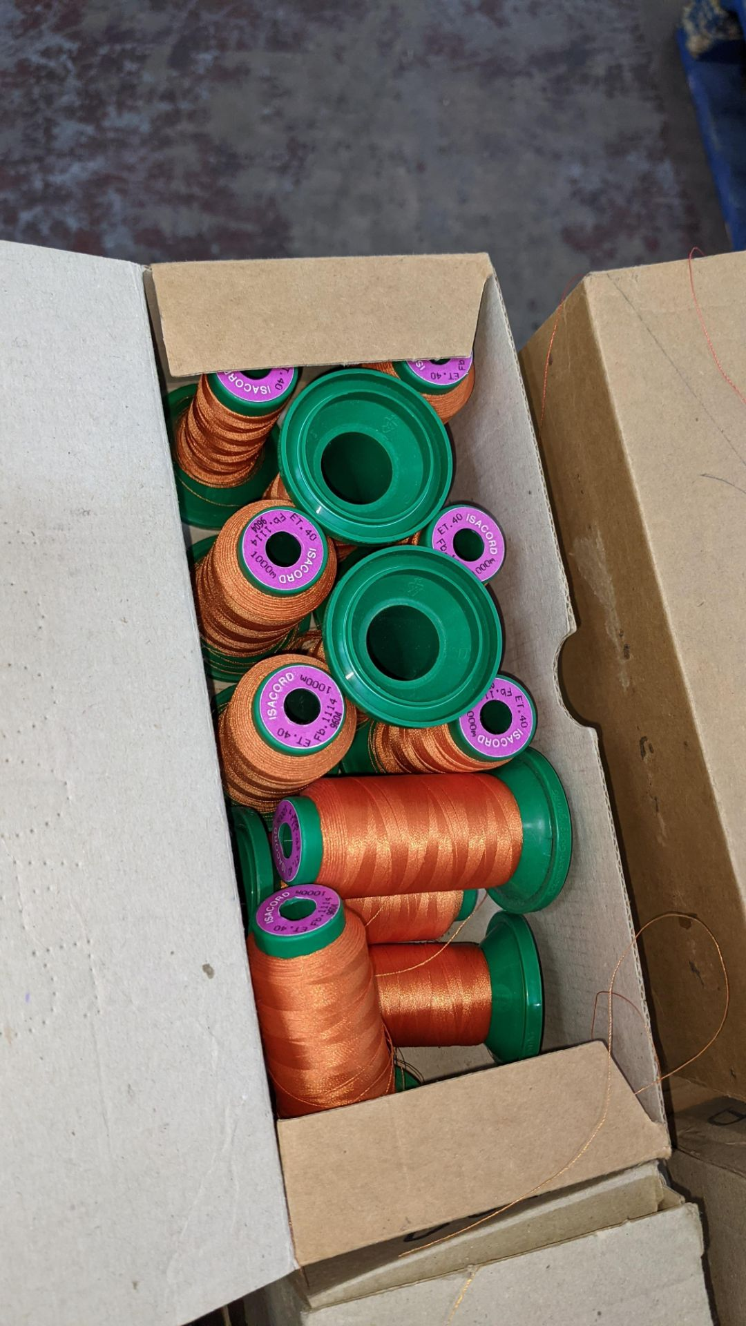 20 boxes of Ackermann Isacord (40) polyester thread - Image 6 of 9