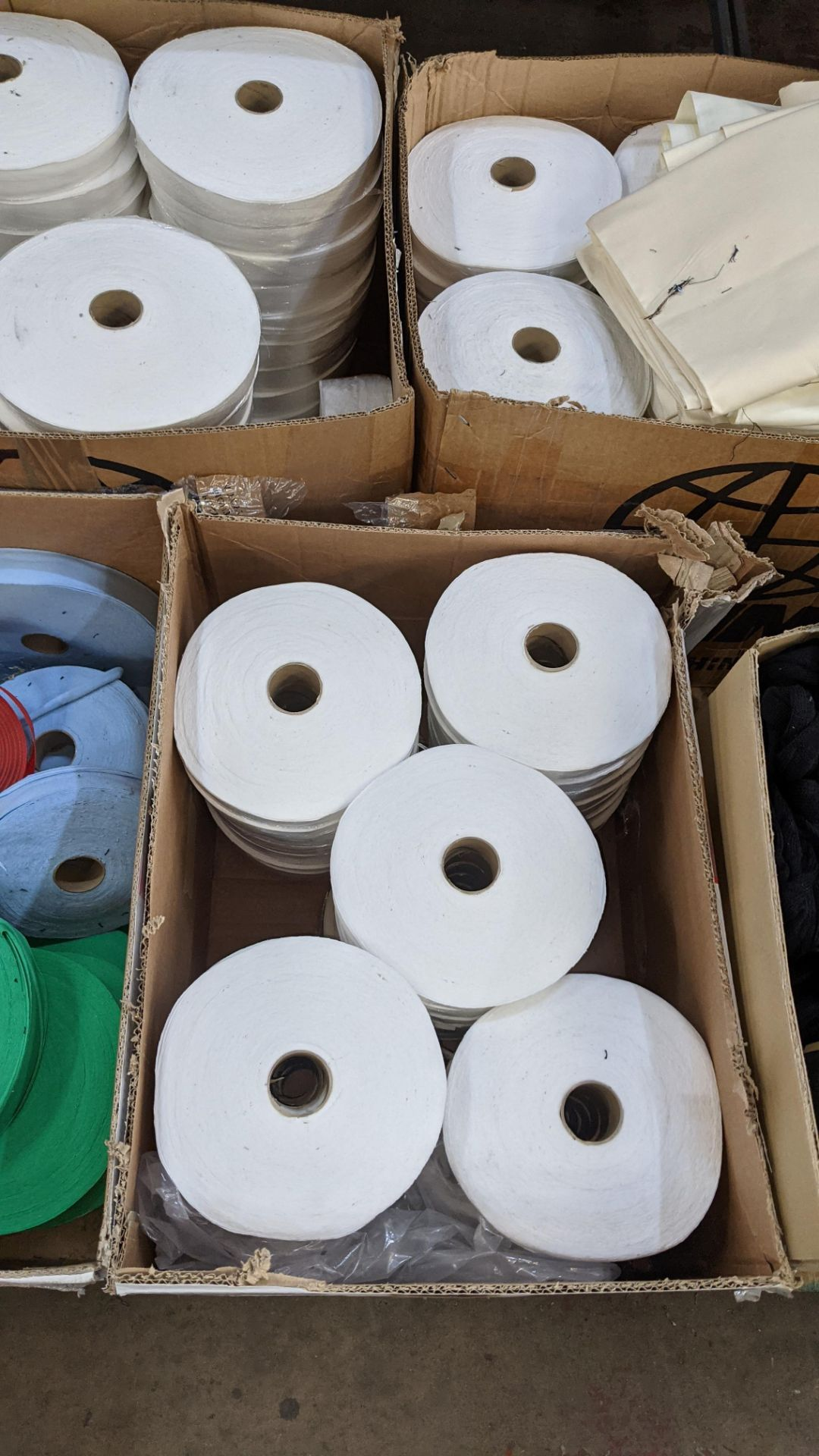 5 boxes of assorted tape & other materials - Image 4 of 5
