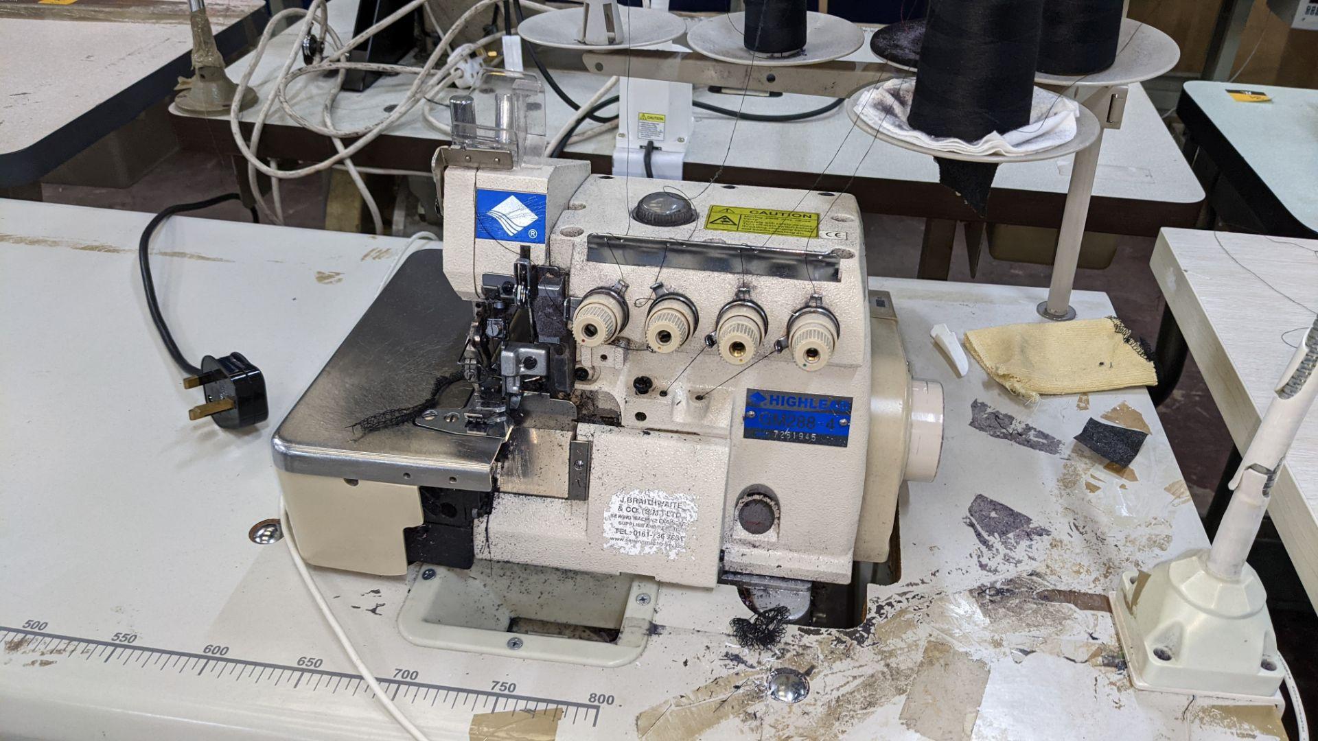Highlead overlocker model GM288-4 - Image 5 of 16