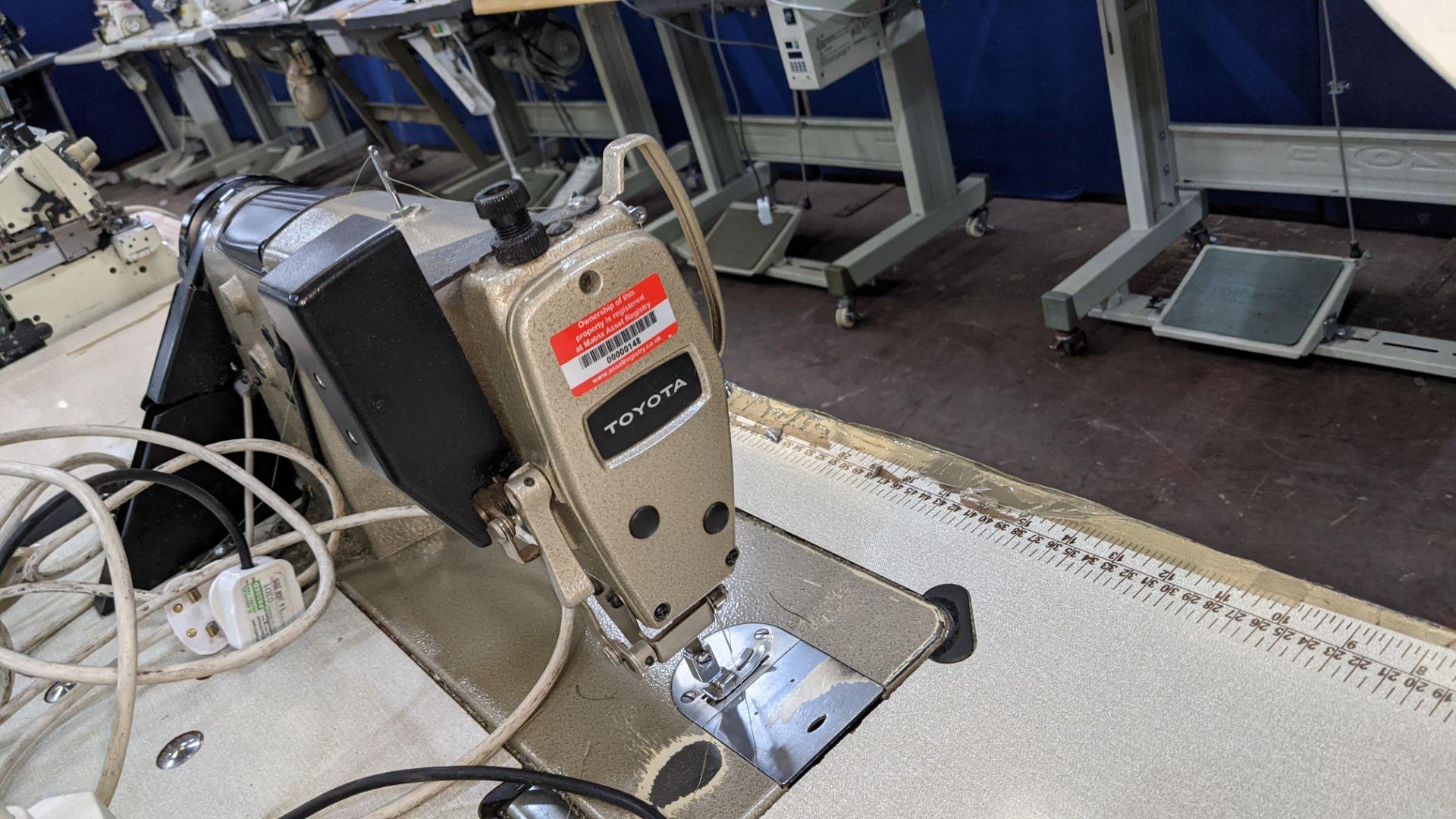 Toyota sewing machine - Image 11 of 17