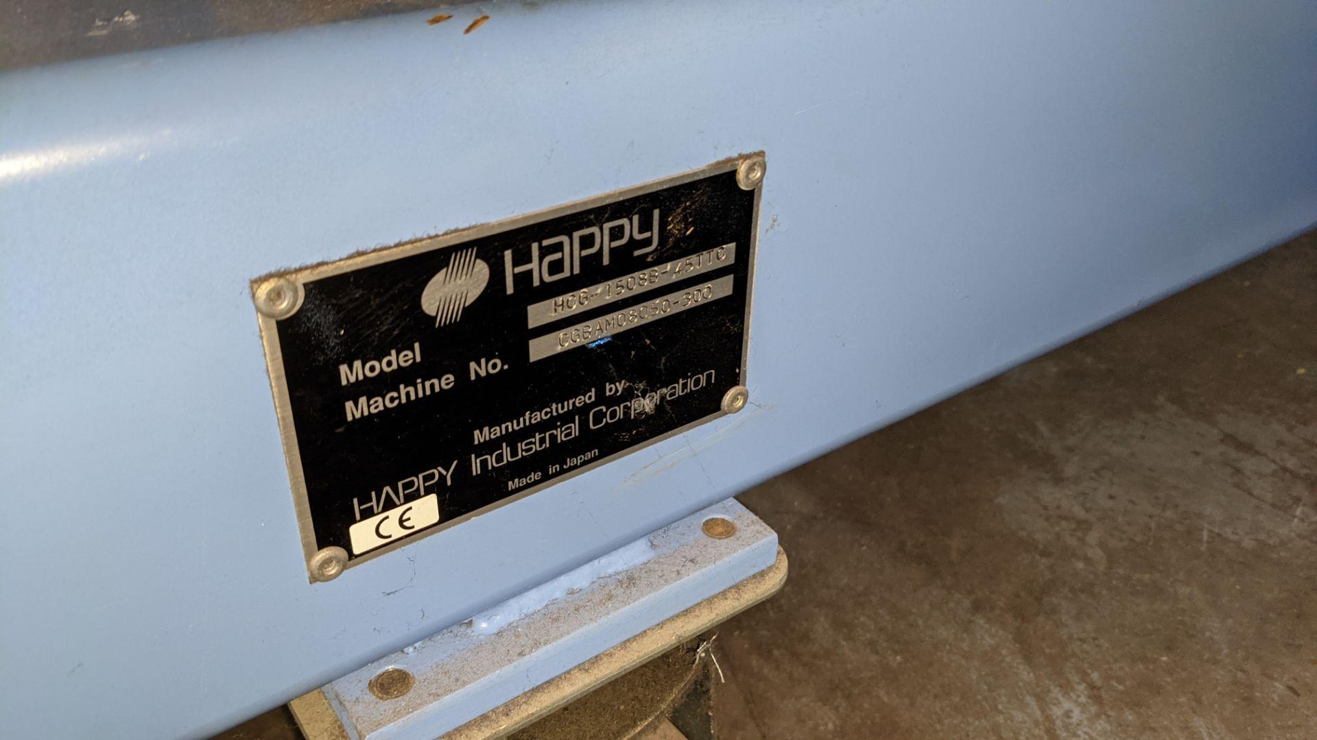 Happy 8 head embroidery machine, model HCG-1508B-45TTC, 15 needles per head, including frames & othe - Image 21 of 32