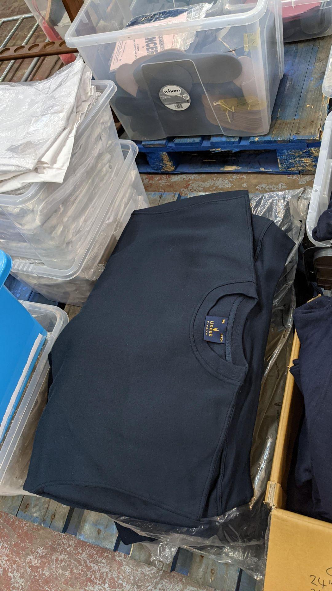 Approx 15 off Uneek dark blue sweatshirts - 2 bags - Image 5 of 5