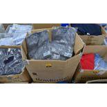 Approx 32 off pale grey sweatshirts - 1 box