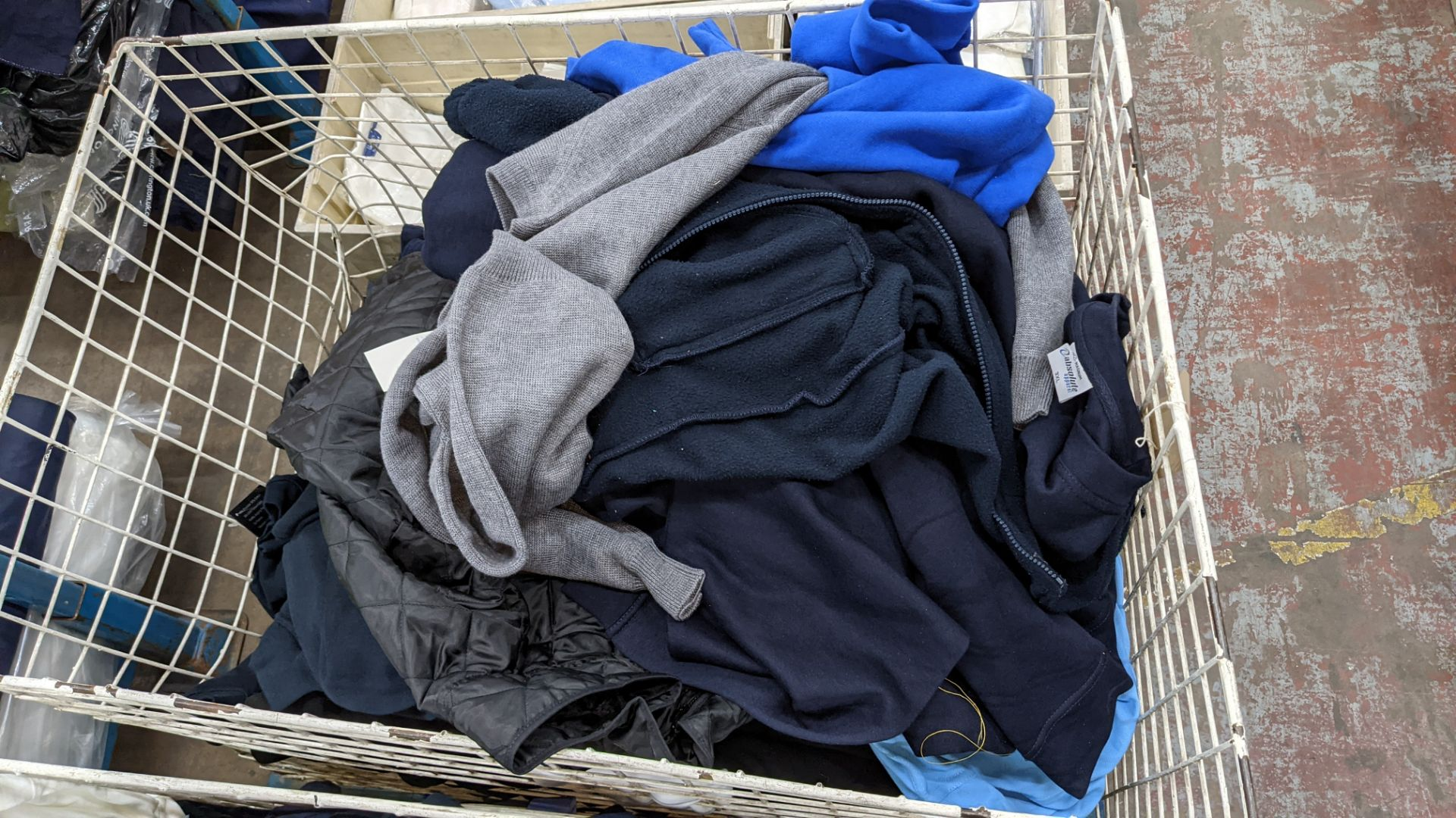 The contents of a cage of assorted adults garments. NB cage excluded - Image 3 of 5