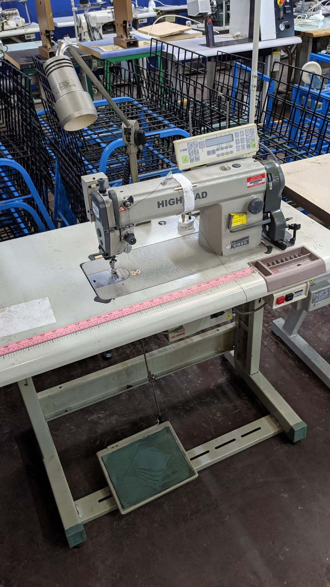 Highlead model GC128-M-D3 sewing machine with model C-60M digital controller - Image 18 of 18