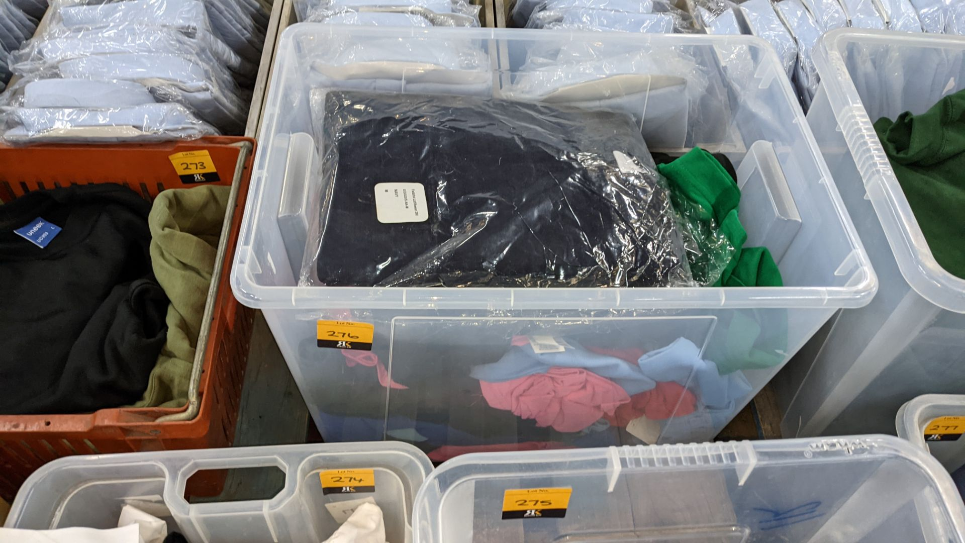 The contents of a crate of assorted garments. NB crate excluded - Image 2 of 5