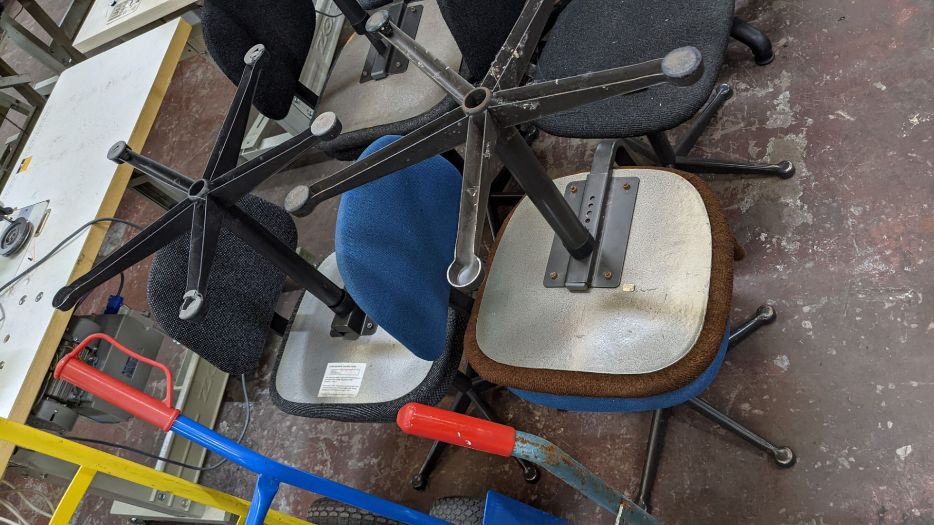 7 off assorted machinists chairs - Image 3 of 9