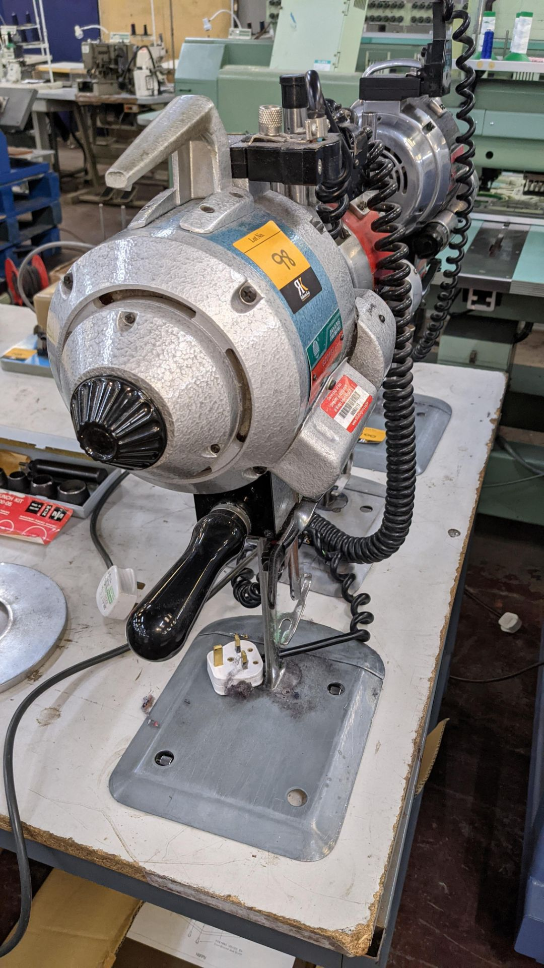 Ayang model CZD103 electric cutter - Image 3 of 6