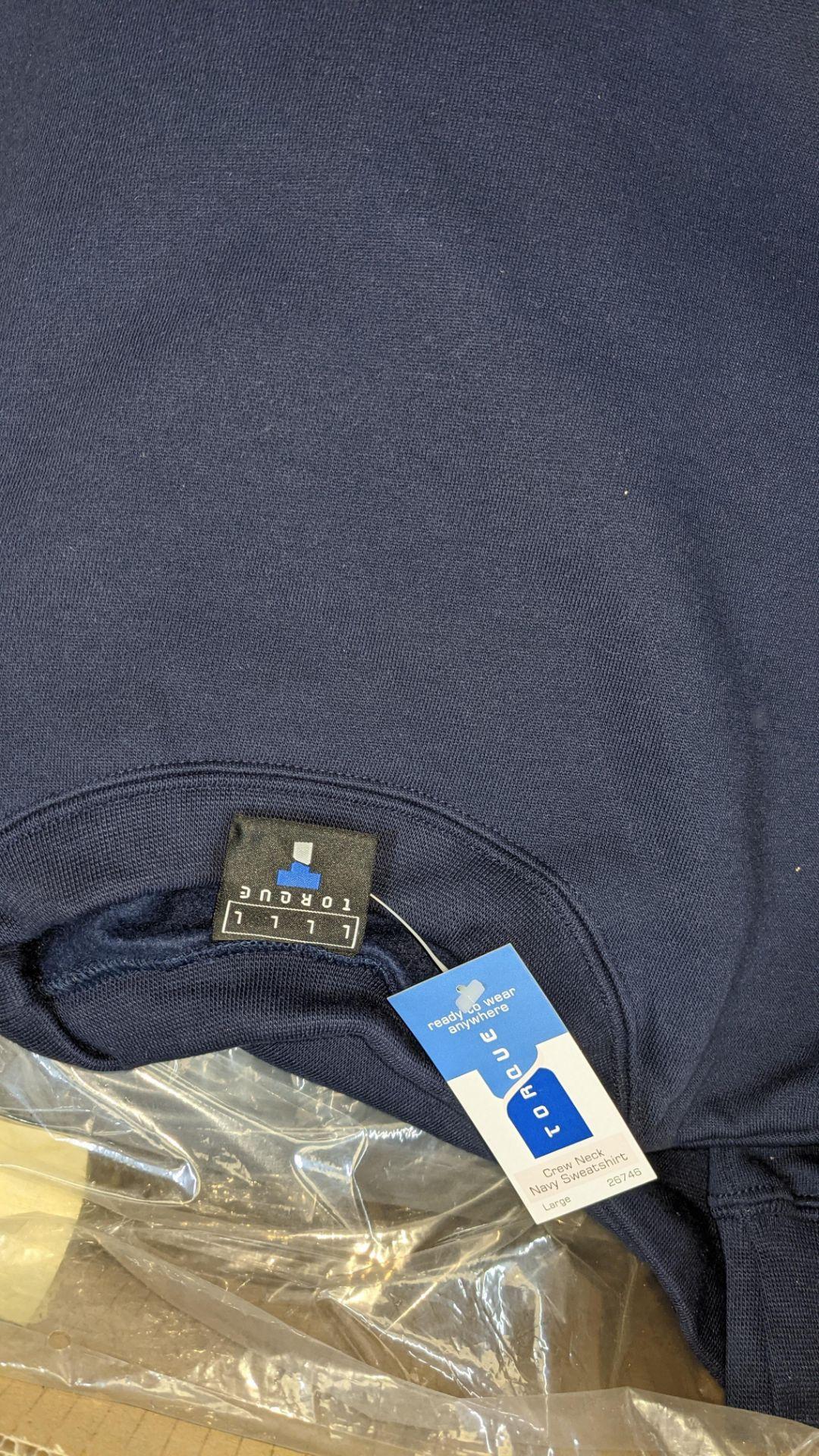 Quantity of blue sweatshirts - Image 4 of 4