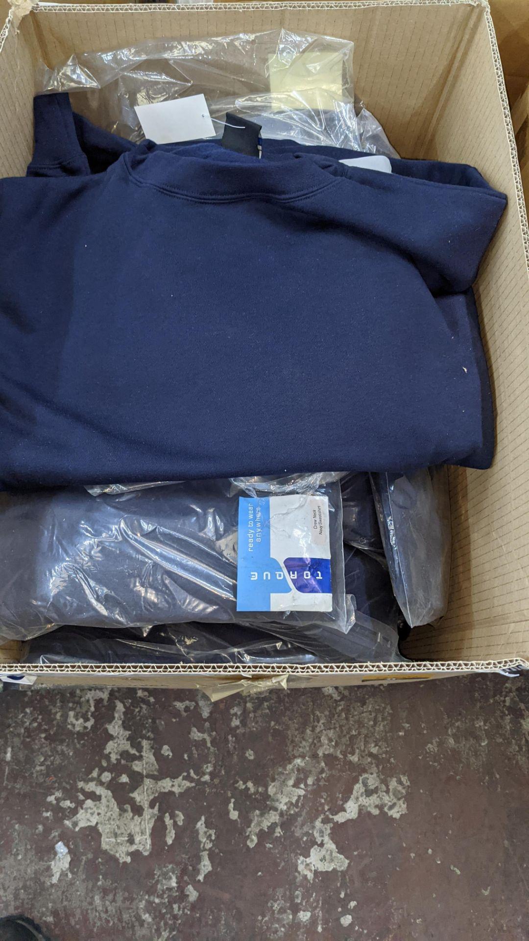 Quantity of blue sweatshirts - Image 2 of 4