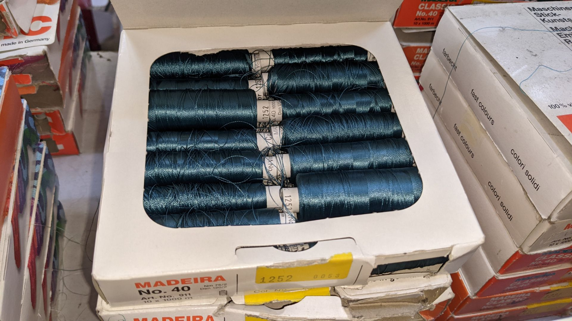 30 boxes of Madeira Classic No. 40 rayon embroidery thread - Image 11 of 12