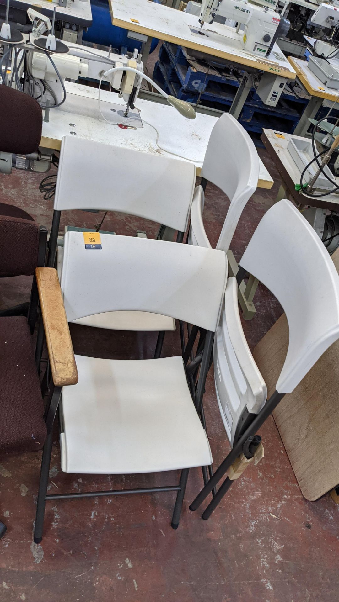 4 off Lifetime folding chairs - Image 3 of 4
