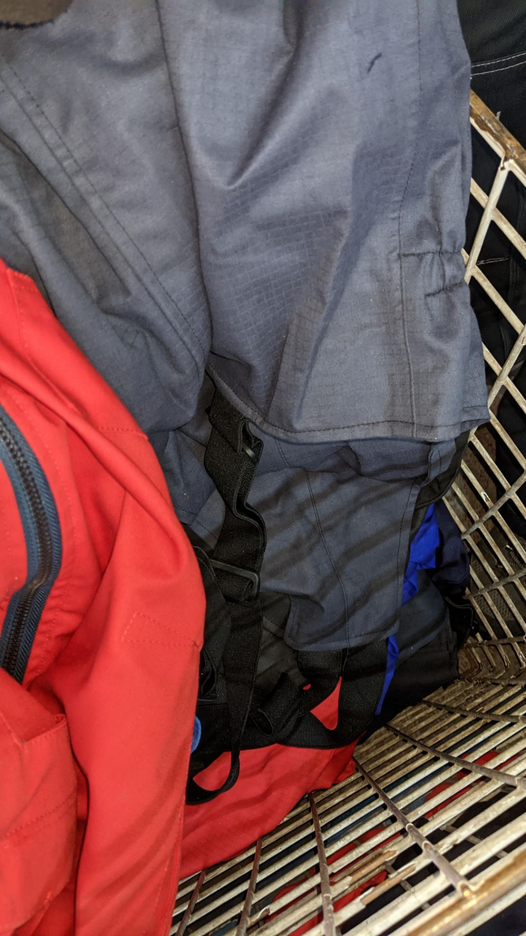The contents of a cage of assorted work clothing. NB cage excluded - Image 7 of 8