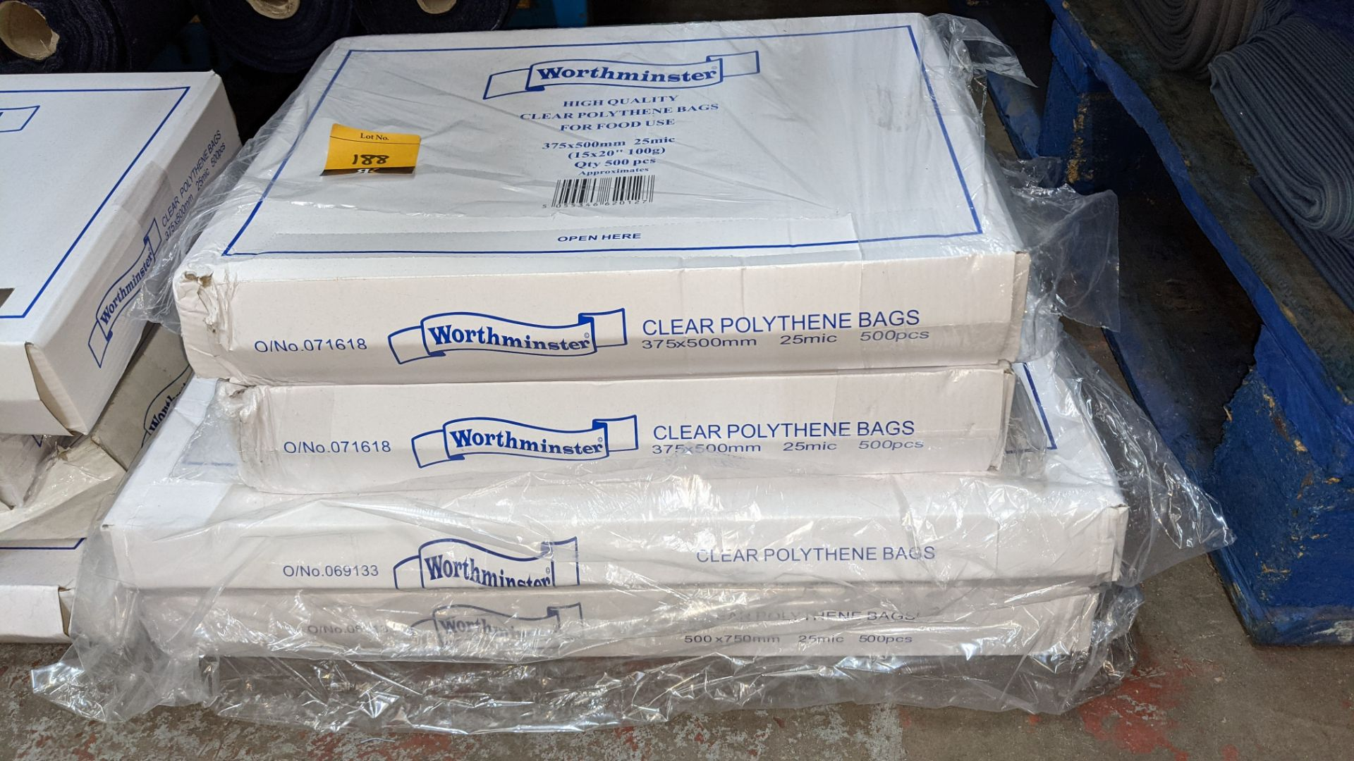 4 boxes of clear food bags by Worthminster - Image 2 of 5