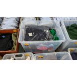 The contents of a crate of assorted garments. NB crate excluded