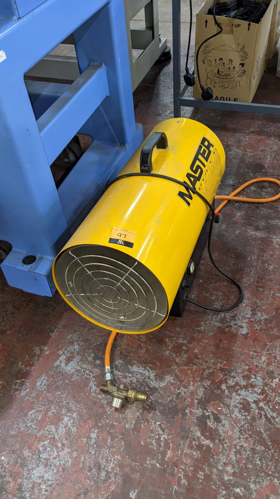 Master BLP 50kW gas space heater - Image 2 of 6