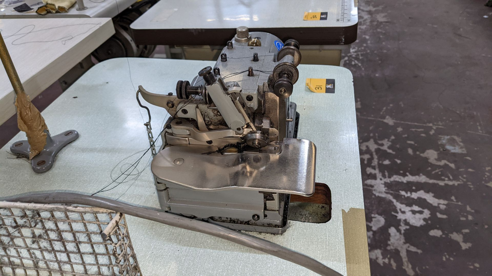 Merrow sewing machine, model M-30 - Image 8 of 14