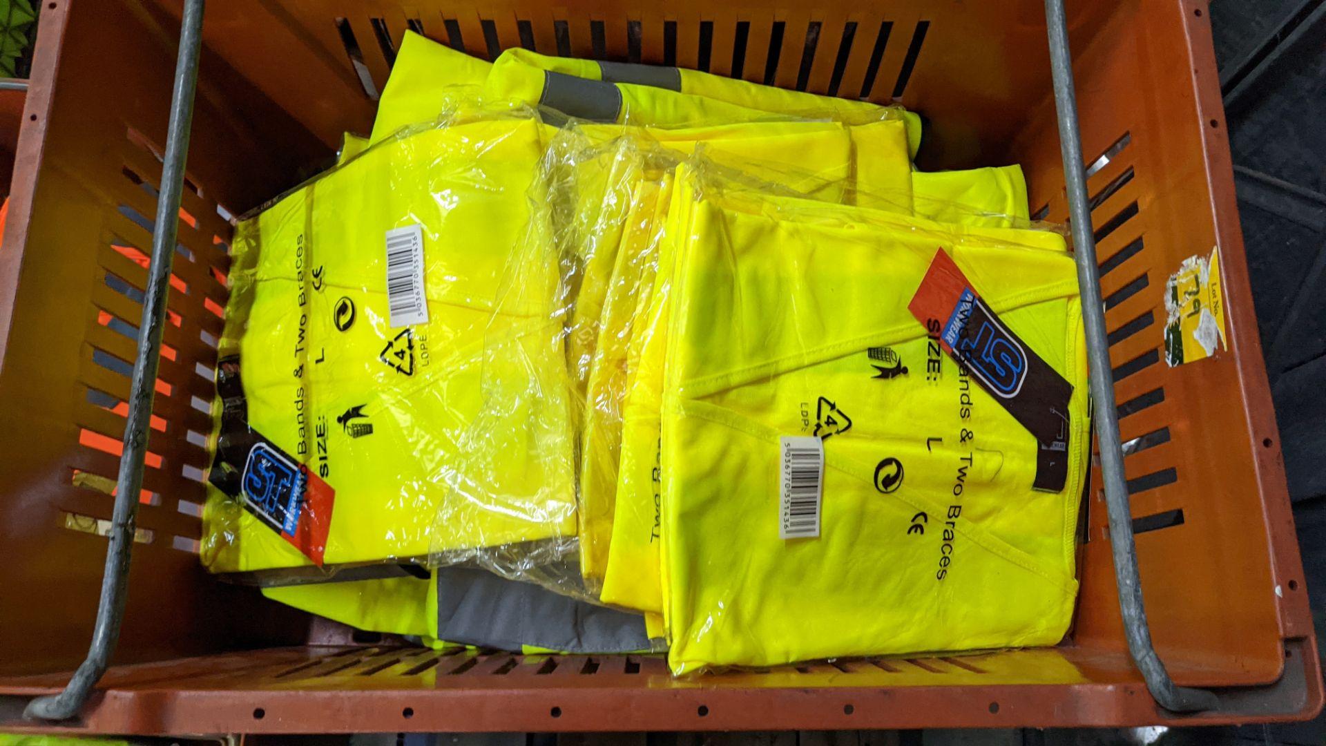 20 off yellow hi-vis vests - Image 5 of 5
