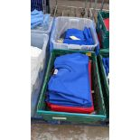 Approx 16 off Sportex children's assorted sweatshirts - the contents of 2 crates. NB crates exclude
