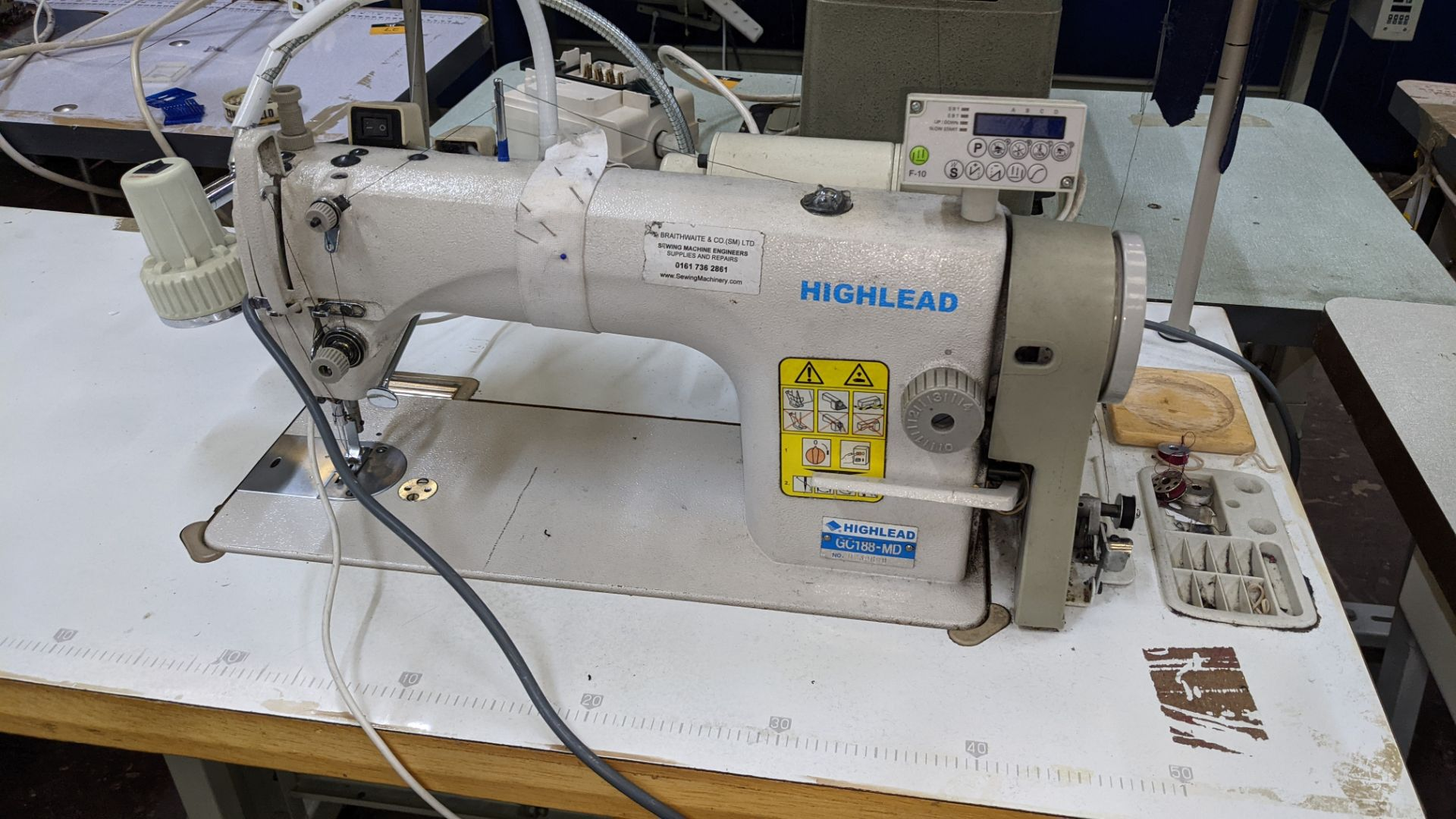 Highlead flat sewer model GC188-MD - Image 5 of 17
