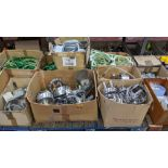 The contents of a pallet of assorted embroidery machine frames & similar - this lot consists of 6 as