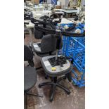 4 off matching machinists chairs