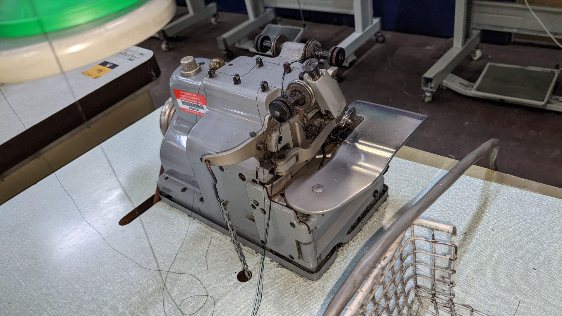 Merrow sewing machine, model M-30 - Image 10 of 14