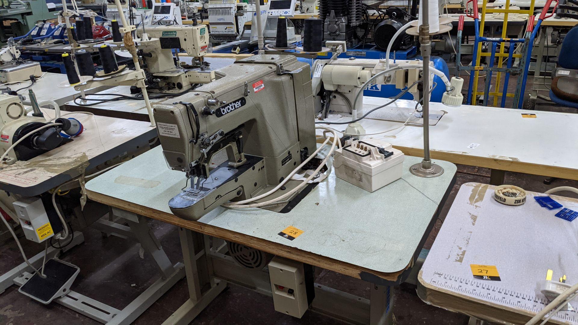Brother bar tack sewing machine model LK3-B430-2