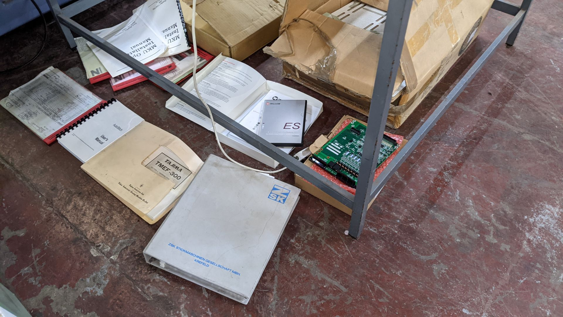 Quantity of spares/ancillaries in 3 boxes as pictured plus quantity of machine manuals/software - th - Image 3 of 12