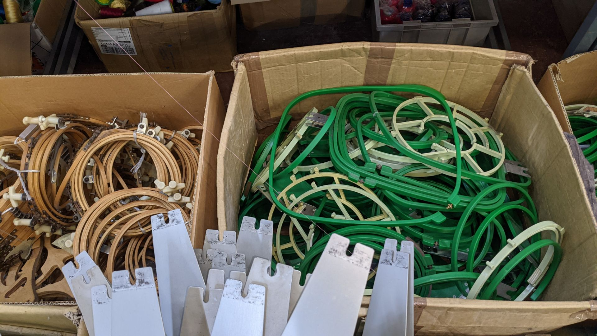 The contents of a pallet of assorted embroidery machine frames & similar - this lot consists of 5 as - Image 7 of 7