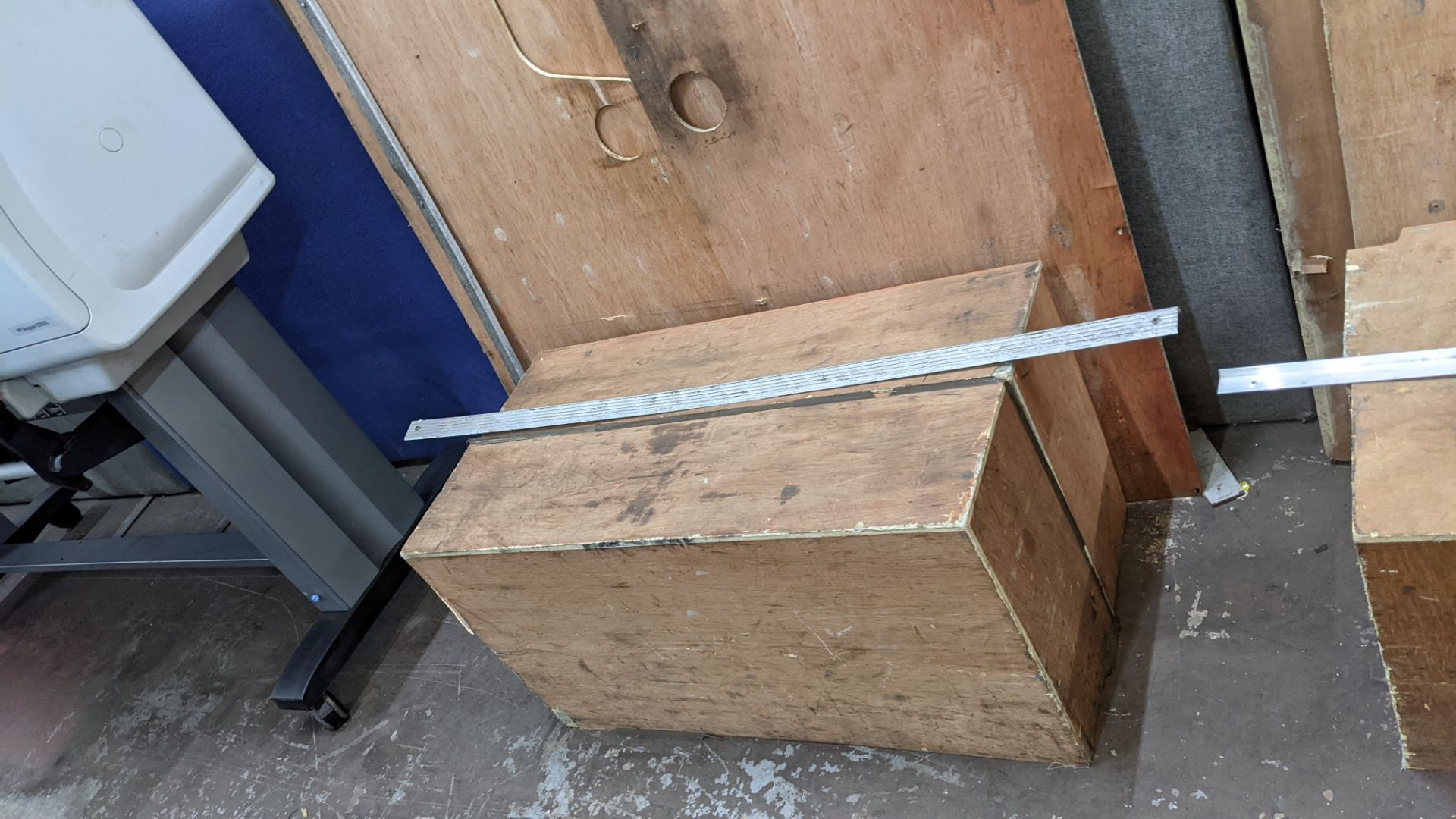 Floor ply lining as fitted to Peugeot Boxer L4 panel van - Image 8 of 8