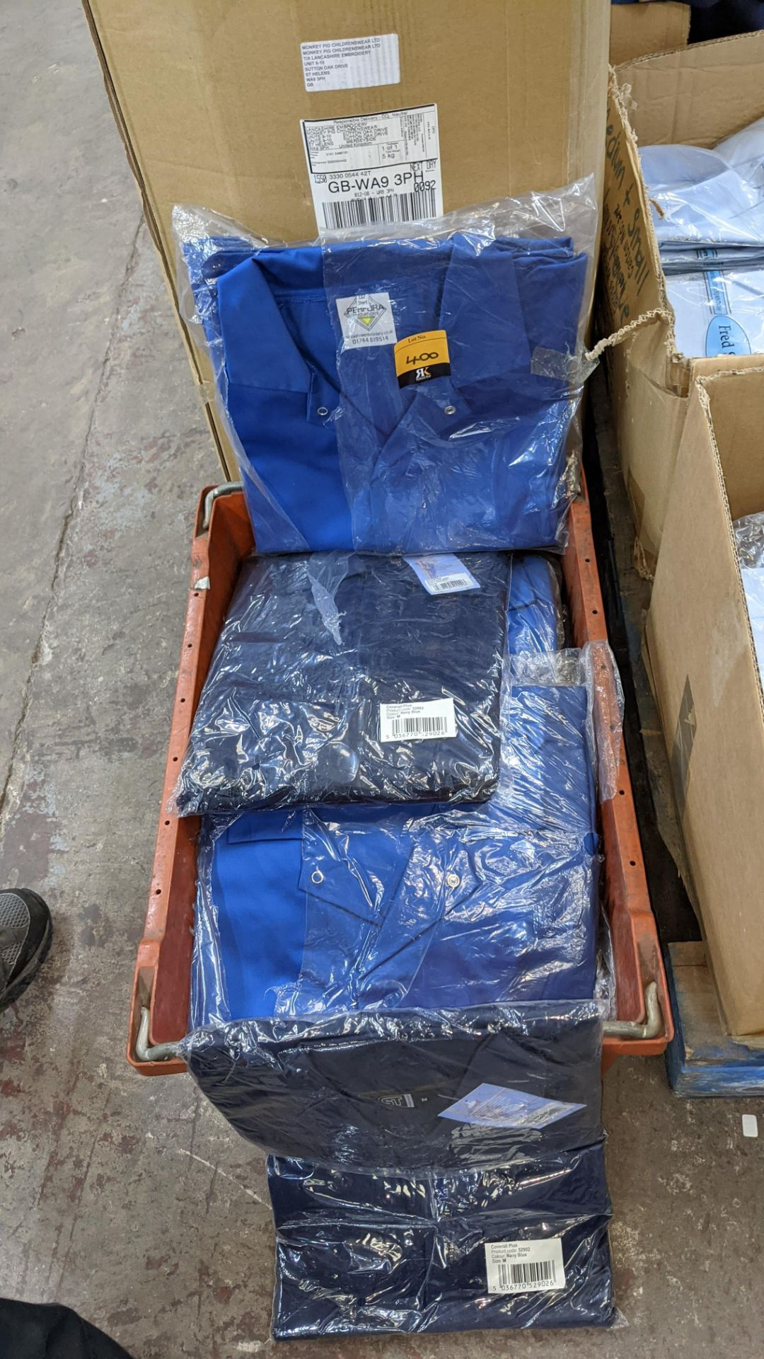 The contents of a crate of work coveralls & similar - Image 3 of 4