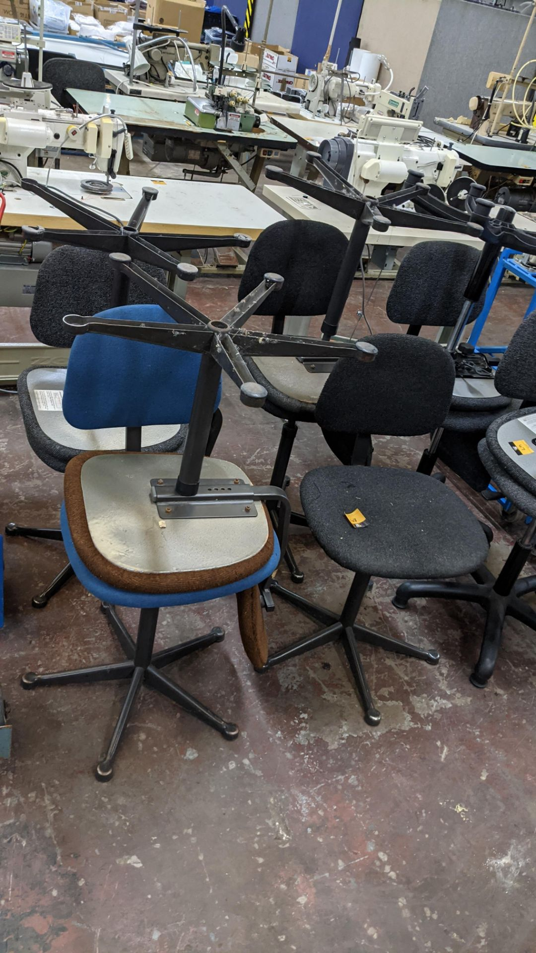 7 off assorted machinists chairs - Image 2 of 9