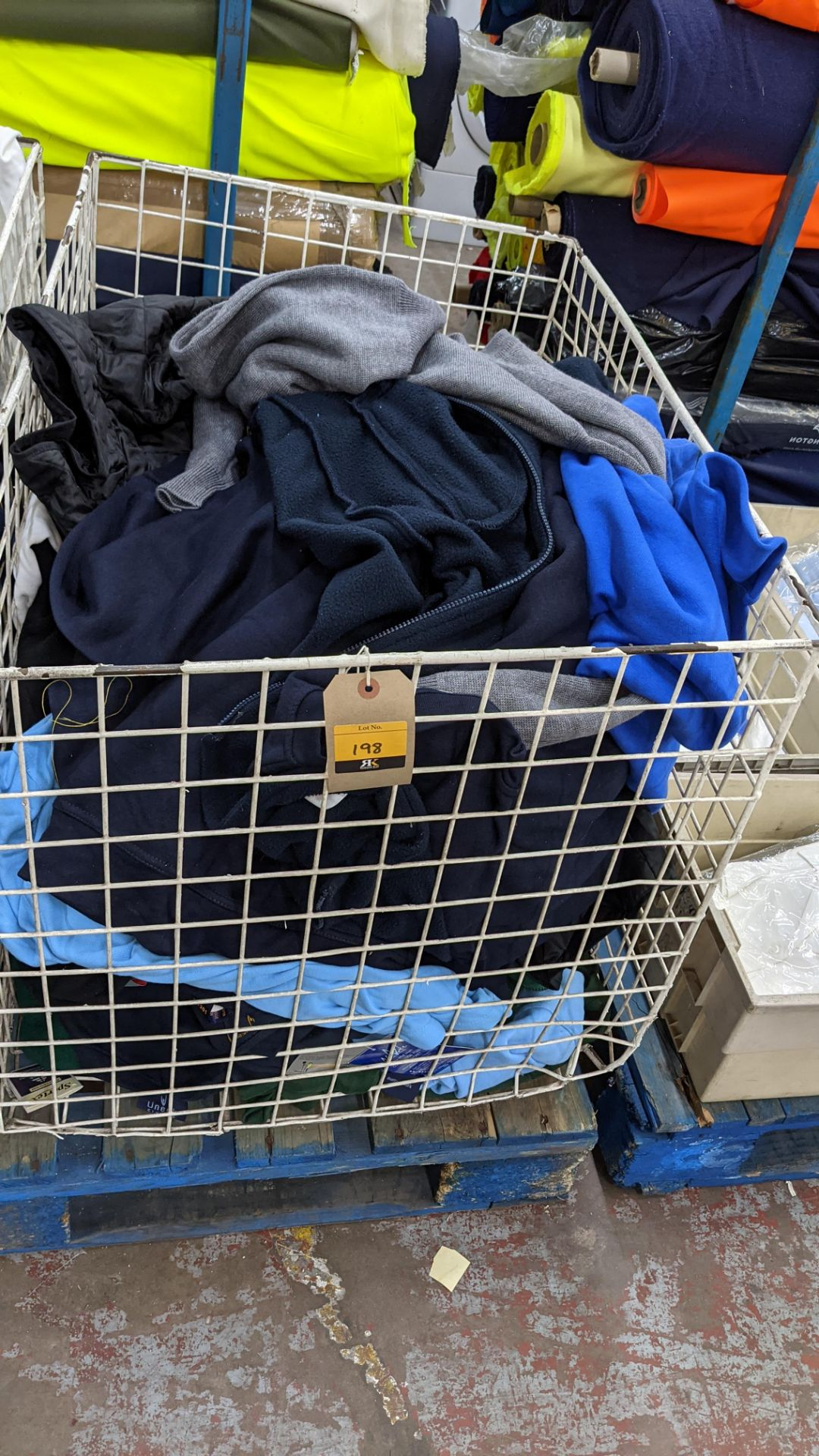 The contents of a cage of assorted adults garments. NB cage excluded - Image 2 of 5