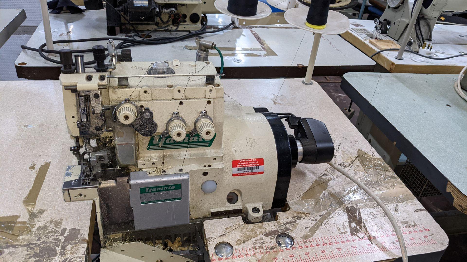 Yamato overlocker, model AZR8420-YSDF - Image 5 of 15