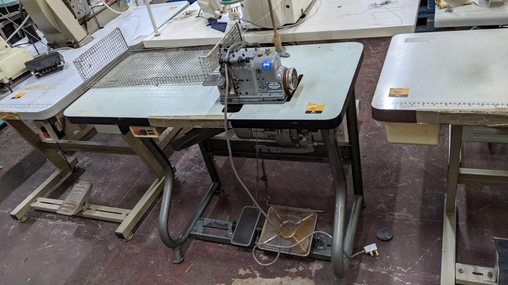 Merrow sewing machine, model M-30