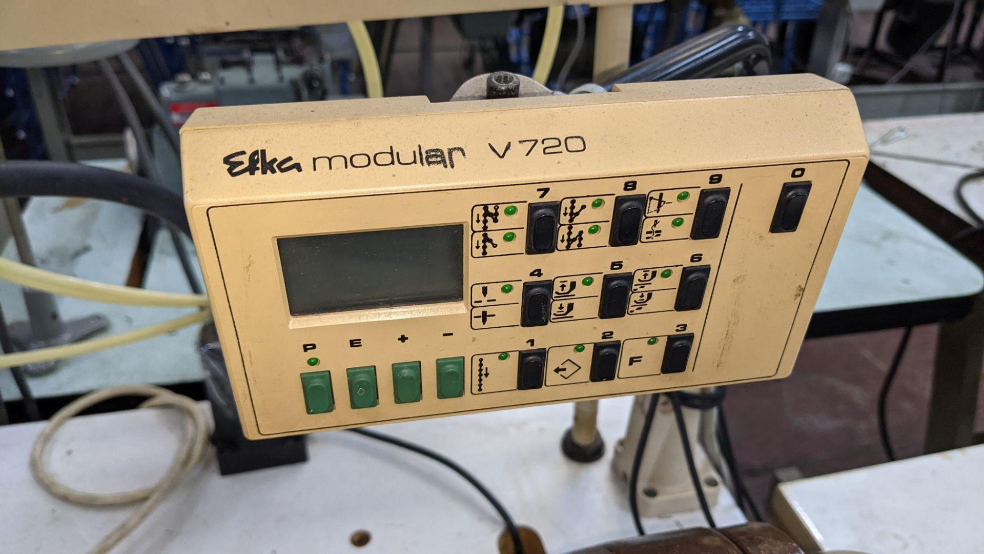 Pfaff model 563 sewing machine with Efka modular V720 digital controller - Image 10 of 13