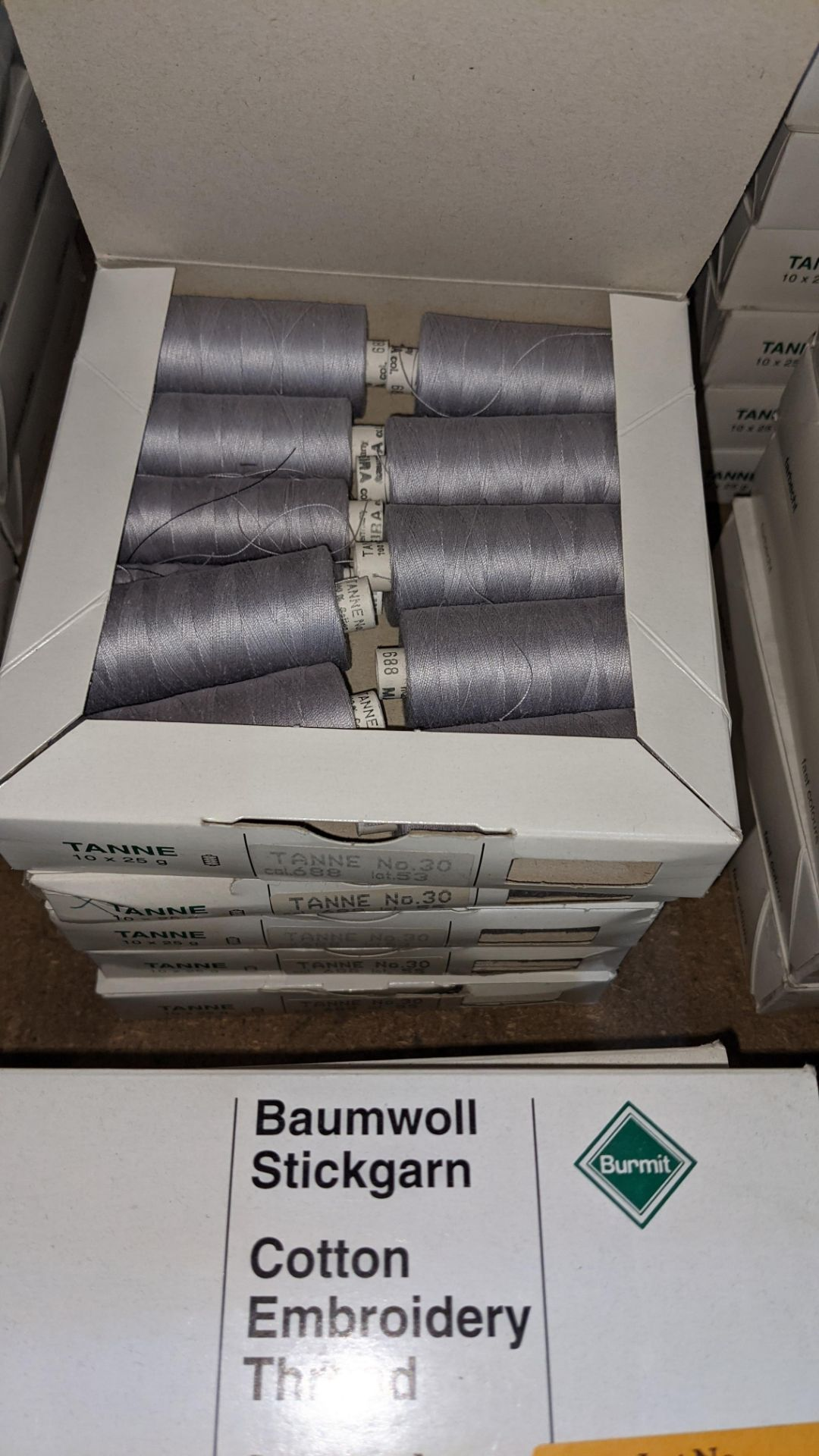 16 boxes of Madeira Tanne (Burmit) cotton embroidery thread - Image 7 of 8