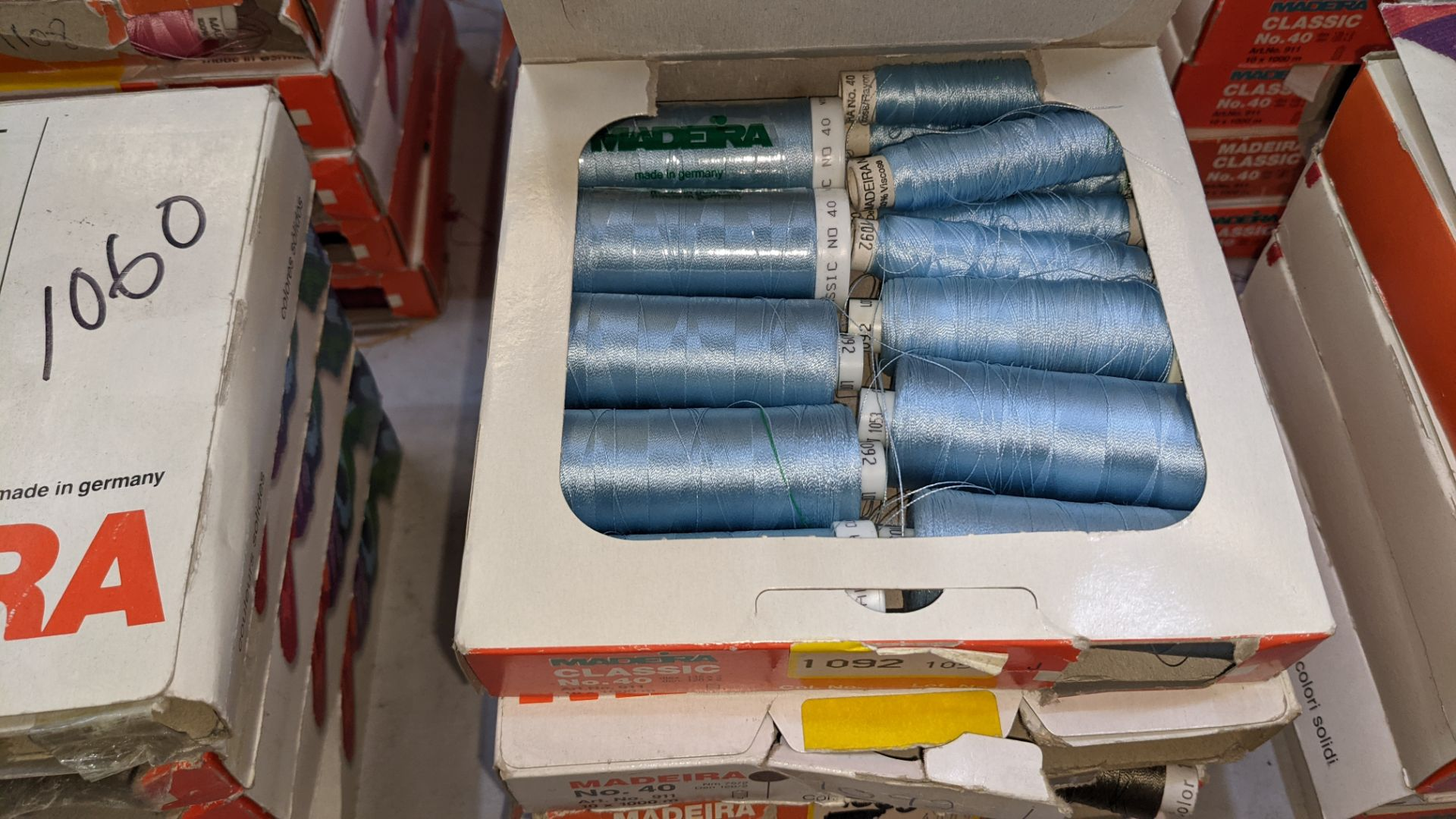 25 boxes of Madeira Classic No. 40 rayon embroidery thread - Image 9 of 12