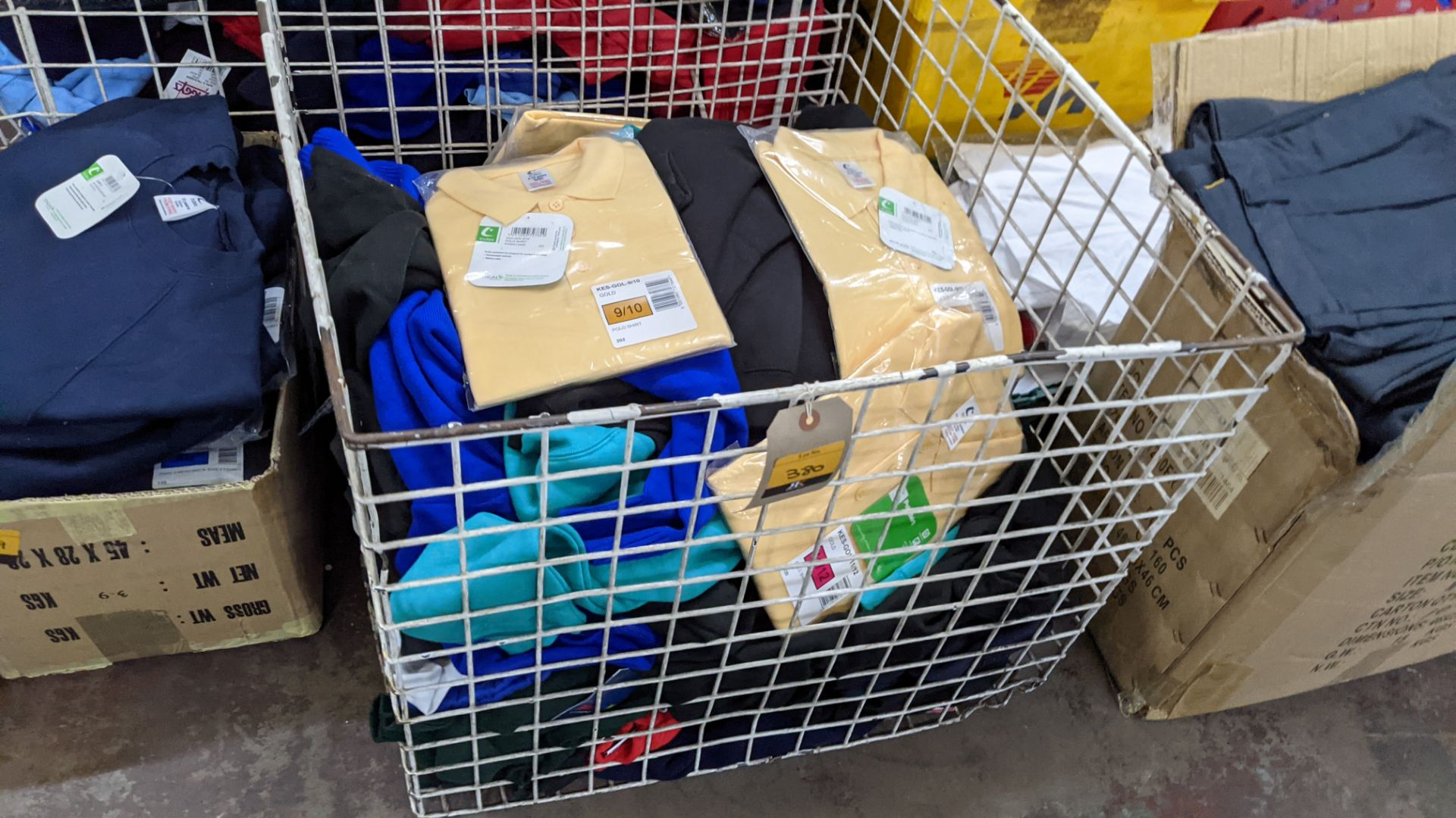 The contents of a cage of assorted children's garments - Image 2 of 5