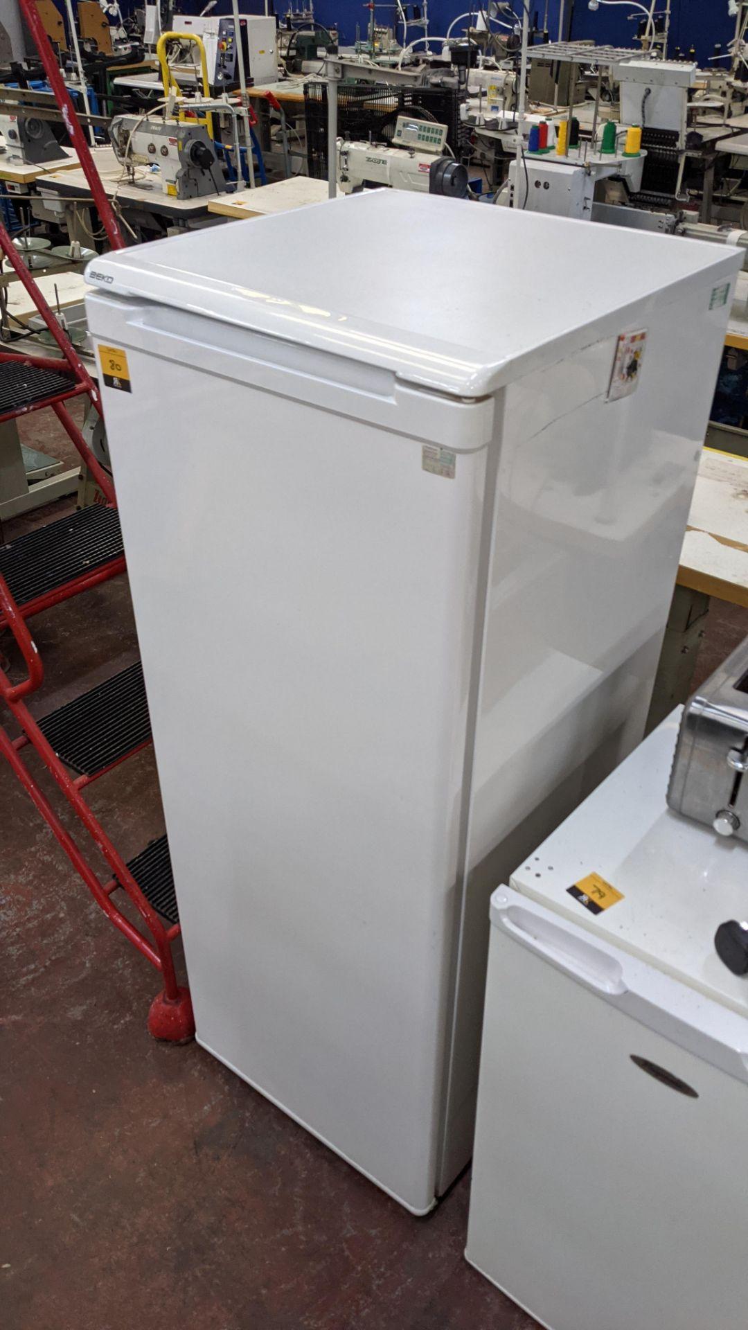 Beko tall fridge - Image 2 of 5