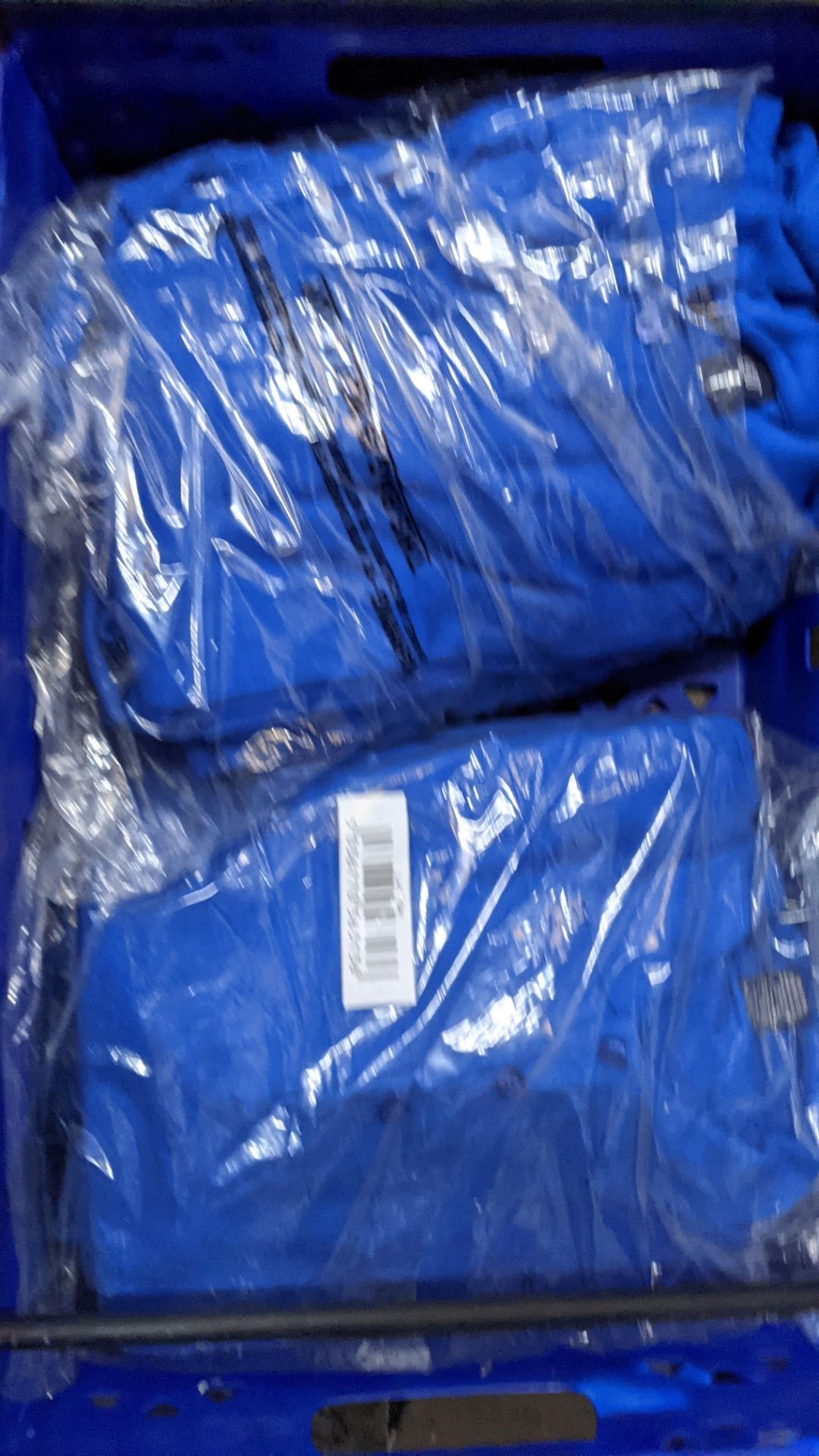Approx 30 off royal blue polo shirts (2 crates) - Image 5 of 6