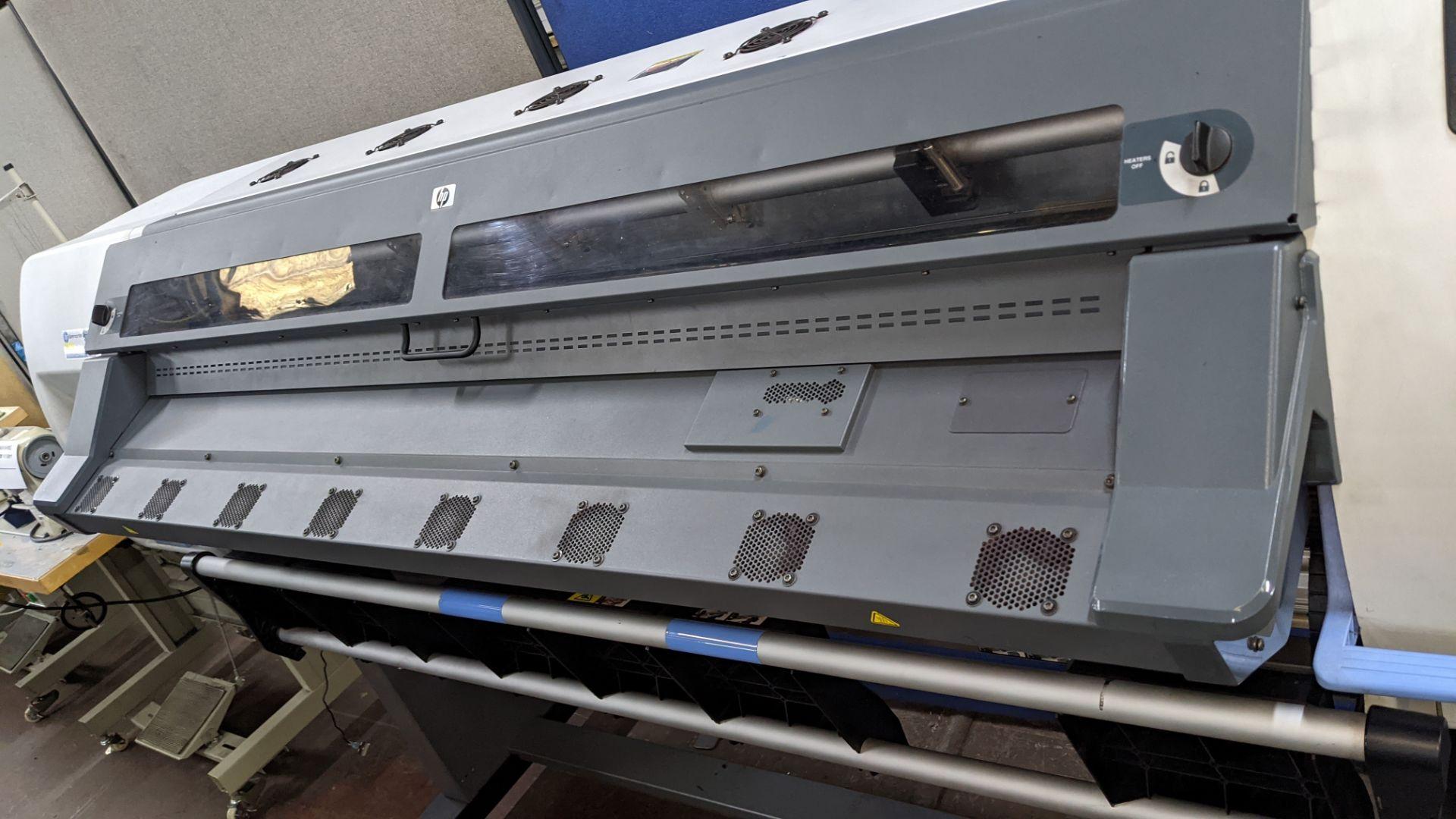 HP DesignJet L25500 wide format printer - Image 7 of 9