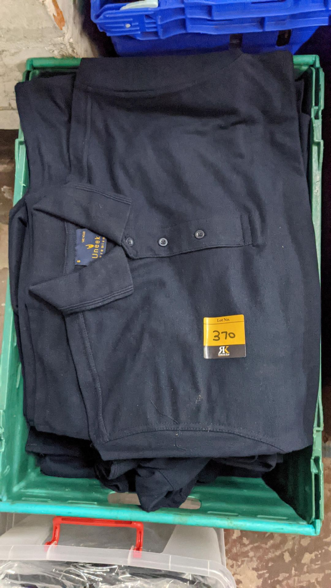 Approx 20 off Uneek navy polo shirts - Image 4 of 4