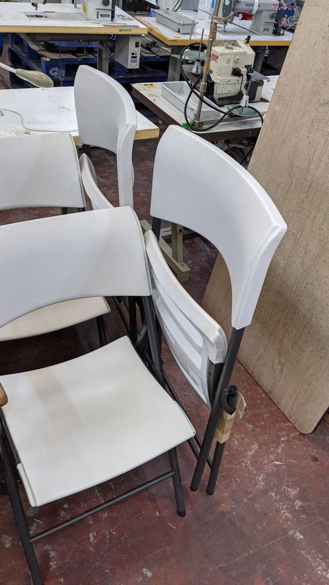 4 off Lifetime folding chairs - Image 4 of 4