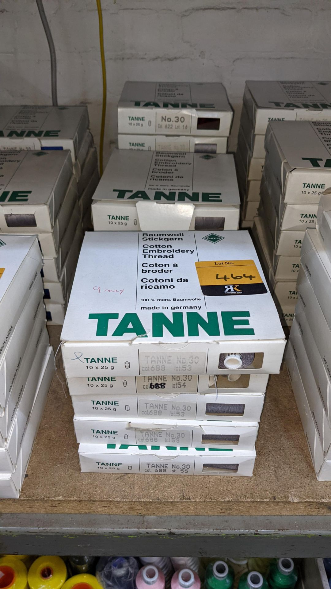 16 boxes of Madeira Tanne (Burmit) cotton embroidery thread - Image 2 of 8