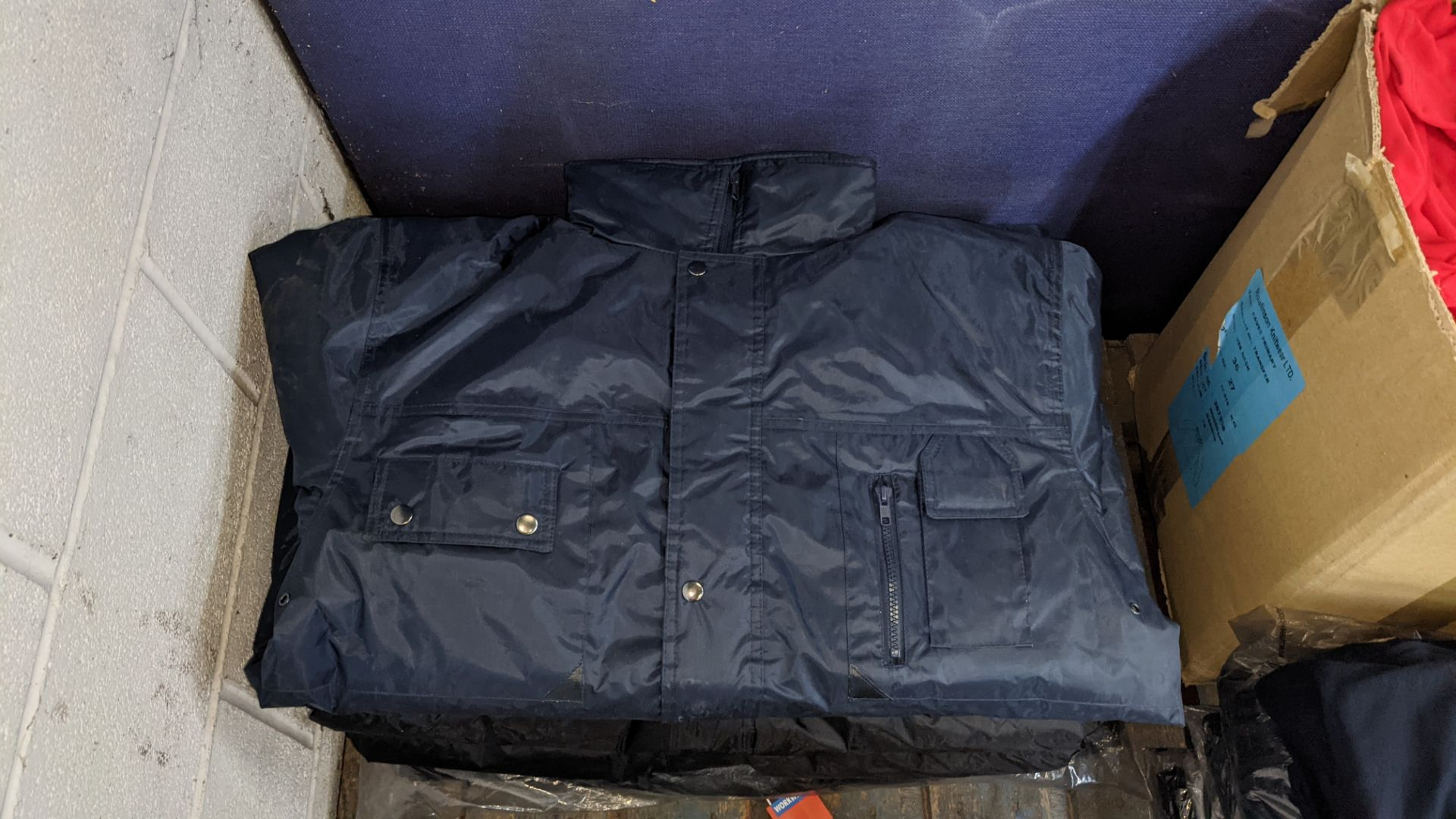 Approx 9 off assorted coats, overalls & body warmers (2 stacks) - Image 5 of 8