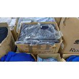 Approx 27 off blue sweatshirts - 1 large box