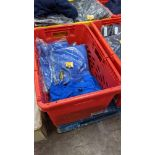 Approx 17 off bright blue polo shirts
