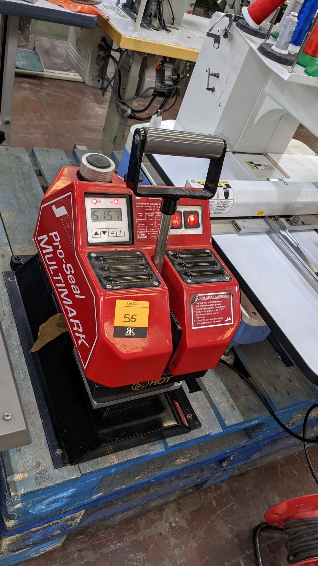 Pro-Seal Multimark heat sealing machine - Image 4 of 10